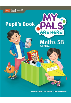 My Pals are Here ! Maths Pupil's Book 5B (3E)