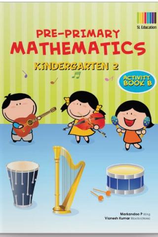 Pre-Primary Math Kindergarten 2 Activity Book B