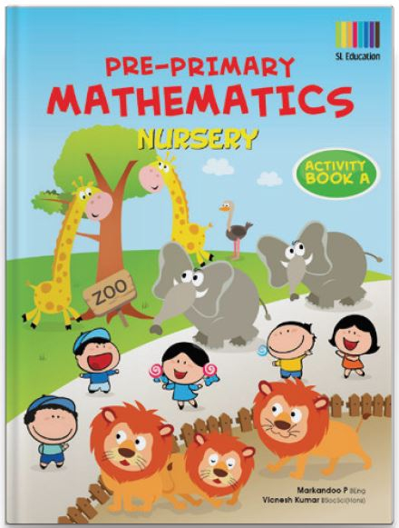 Pre-Primary Math Nursery Activity Book A | OSB EDUCATION