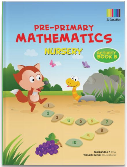 Pre-Primary Math Nursery Activity Book B | OSB EDUCATION