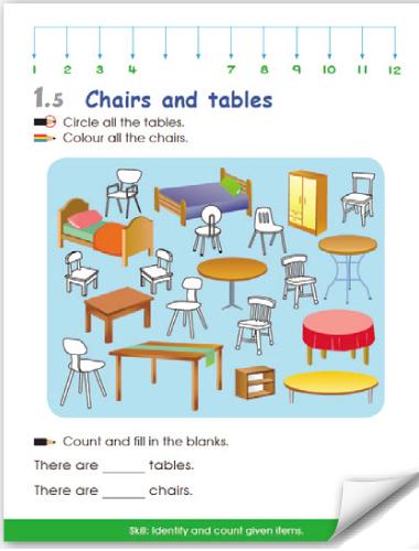 Pre-Primary Math Kindergarten 1 Activity Book A | OSB EDUCATION