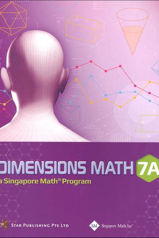 Dimensions Mathematics Common Core Textbook 7A