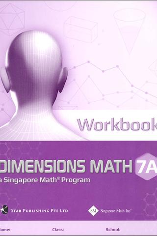 Dimensions Mathematics Common Core Workbook 7A