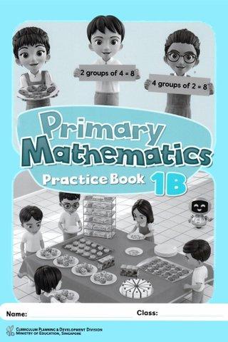 Primary Mathematics Practice Book 1B
