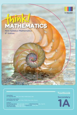 Think! Mathematics Secondary Textbook 1A (8th Ed)